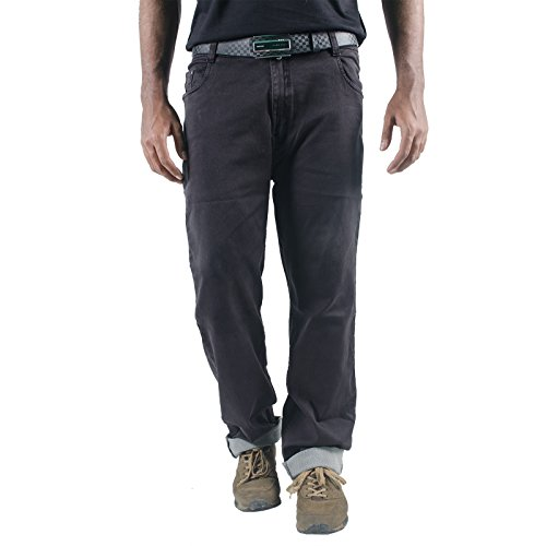 0-Degree Magnum Lycra Luxury Jeans Men Stretch Premium Grey