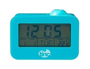 Amazon.com: Tinc PROCLKBL - Reloj despertador con proyector ...