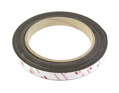 Aimant Experts Nt19abn-5  Flexible ruban magné tique avec 3  m Autocollant (lot de 5) Magnet Expert Ltd. NF19(3M)-1X5M