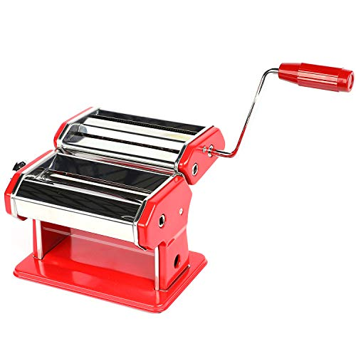 Houseables Pasta Maker, Stainless Steel, 8