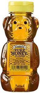 Gunter's Pure Clover Honey Bears, 12 Oz (Pack of 2)
