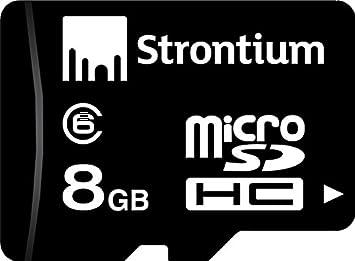Amazon.com: 8 GB Micro SDHC de Estroncio class-6 tarjeta de ...