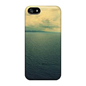 New Arrival Cover Case With Nice Design For Iphone 5/5s- Sayings Free Blue Sea For Year