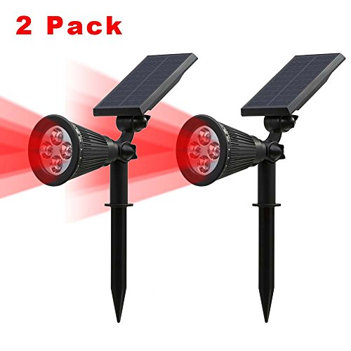 Red Solar Lights - 8