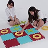 Indoor Tic Tac Toe Noughts & Crosses Pieces Traditional Strategic Board Games by OSG