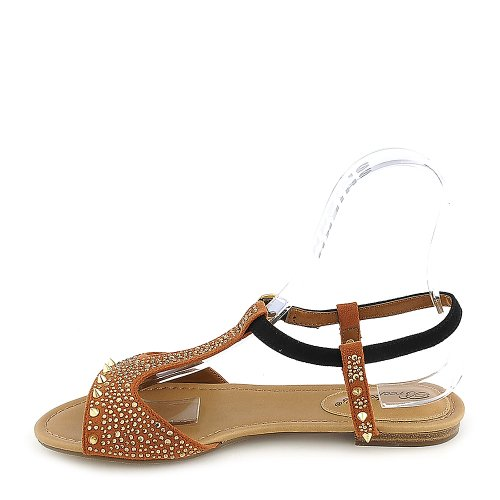 Breckelles Womens Deena-01 Sandale - Taille Tan 10