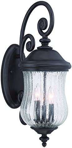 Acclaim 39712BC Bellagio Collection 3-Light Outdoor Light Fixture Wall Lantern