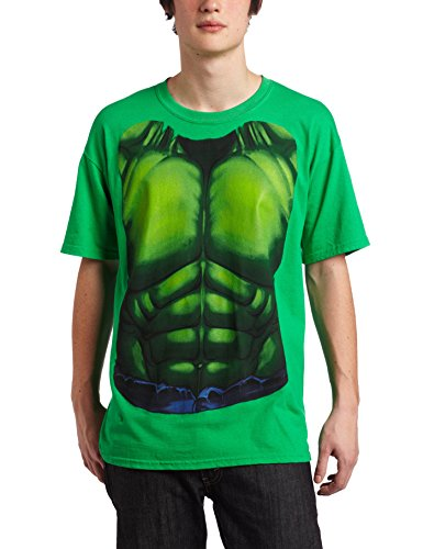 [Mad Engine Men's Smash T-Shirt, Kelly Green, Small] (Incredible Hulk Costume For Women)