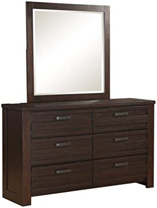 Stylistics Hartford Dresser, 62 x 18 x 78 , Dark Brown