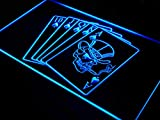 Royal Flush Casino Poker Game Gift LED Sign Night Light i942-b(c)