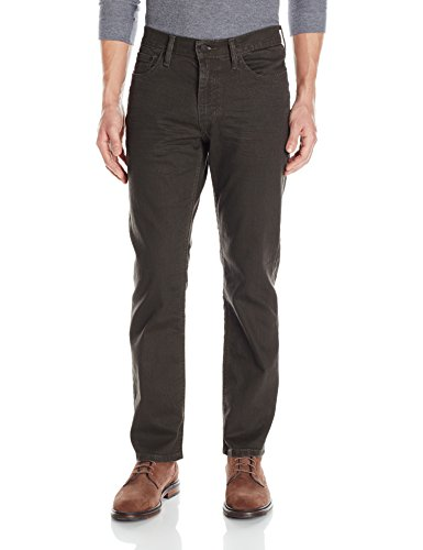(Levi's Men's 541 Athletic Straight Fit Jean, Brown Stucco-Stretch,)