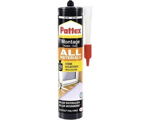 Pattex Montage All Material Weiß WEIß 450 G