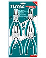 Total THT114041 Cir clip Pliers Set 4pcs