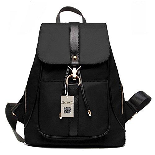 Nylon Backpack Handbag - 8