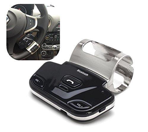 Eximtrade Auto Coche Volante Bluetooth Control Remoto Manos Libres Altavoz Micrófono para Apple iPhone 4/4s/5/5s/6/6s/6 Plus/6s Plus, Samsung Galaxy ...