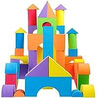 Heyuni. Creative And Educational EVA Non Toxic Foam Building Blocks And Stacking Blocks