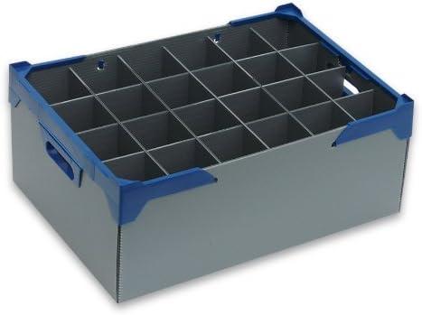 Tamaño mediano Copa de vino – cristalería caja de almacenaje ...