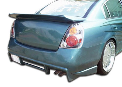 Duraflex ED-NWR-959 R33 Rear Bumper Cover - 1 Piece Body Kit - Compatible For Nissan Altima 2002-2006 ()