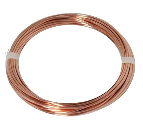 - Modern Findings12 GA Copper Round Wire 25 Ft.(Dead Soft)