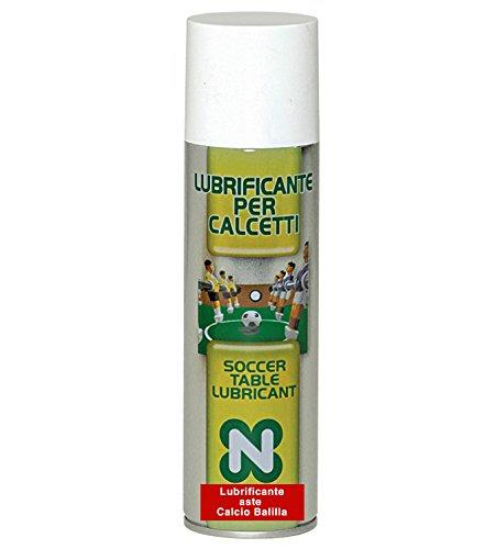 Calcio Balilla Renzi Line Lubrificante per aste calcetto in flacone spray 250ml, eccellente sia per calcetti per esterno che per interno. Renzline by Longoni