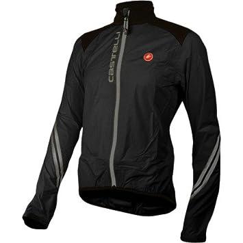 Castelli Goccia Rain Jacket - Mens Black, ...