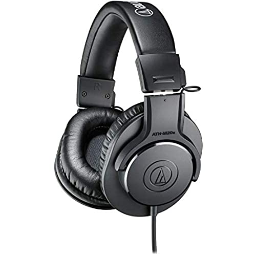 audio-technica ヘッドホン ATH-M20x