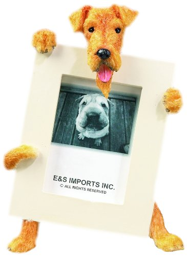 Airedale Terrier Dog 2 1/2 x3 1/2 Photo Frame by E&S 1
