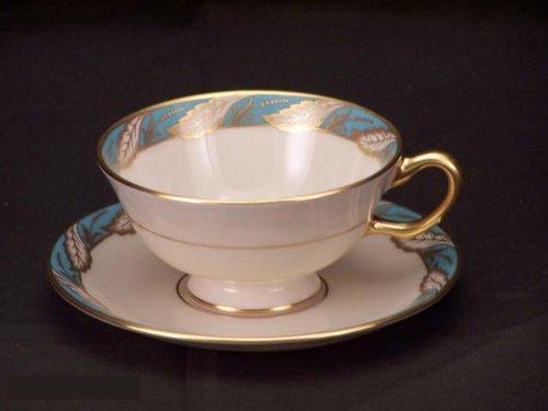 Lenox Bellevue Sea Green #P-524-247 Cups & Saucers