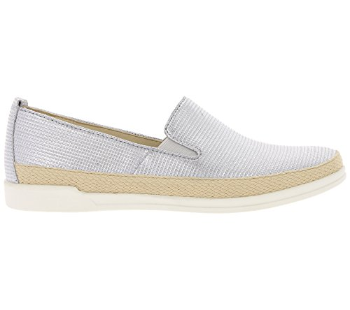 Caprice 9-24201-20 Women's Lace-up Loafers, Schuhgröße_1:40.5 EU;Farbe:Silver