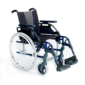 """Silla de ruedas Breezy Style de Sunrise con ruedas de 12"""" y Quick Release -"""