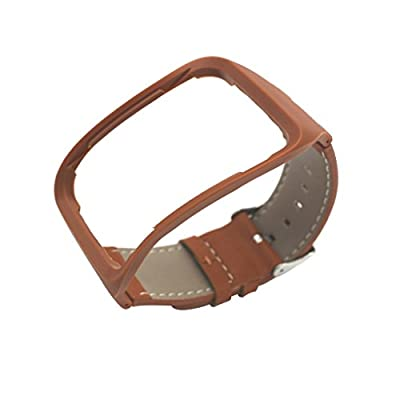 Replacement Genuine Leather Band For Samsung Gear S SM-R750 Wristband Bracelet Watchband Strap