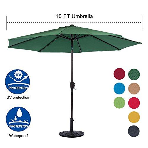 Sundale Outdoor Aluminum Umbrella Polyester
