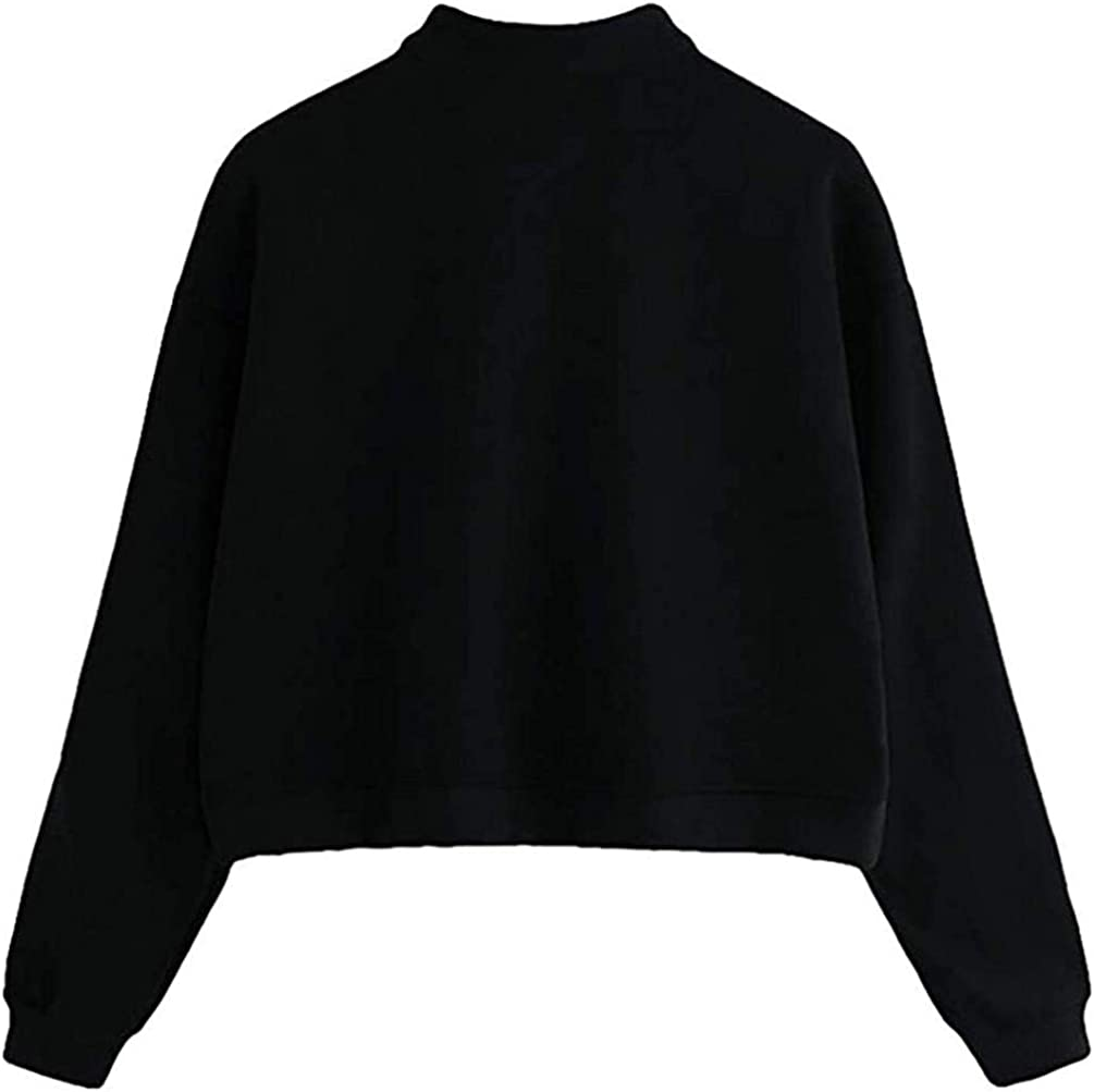 LET Damen Regenbogen Reißverschluss Hoodie Damen Nähen Reißverschluss gestreiften Pullover Sweatshirt Top A-black B