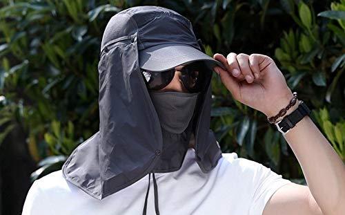 Skyeye Moda UV Sun Hat Sombrero de Sol al Aire Libre Sombrero de la Pesca de los Hombres al Aire Libre Sun Hat Riding Hat