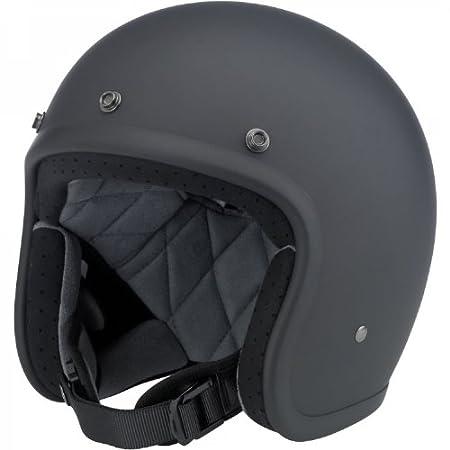 Gloss Black, Large Biltwell Bonanza Half Helmet