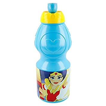 Superhero Girls Botella cantimplora Sport plastico 400ml (STOR 87832)