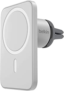 Belkin MagSafe Car Vent Mount PRO for iPhone 12, 12 Pro, 12 Pro Max, 12 Mini (Keeps All iPhone 12 Models Magnetically Mounted While You Drive)