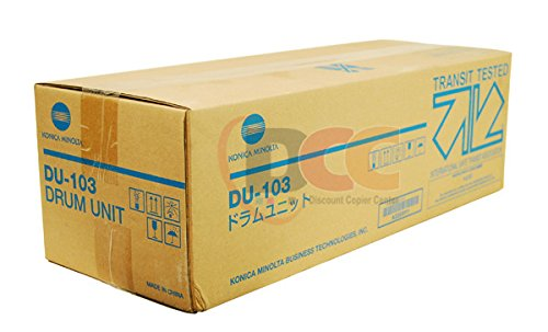 - Genuine Konica Minolta DU103 Drum Unit for Bizhub PRESS C8000