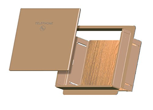 Benner-Nawman 1100C-E-G Exterior Single Family Home Low-Voltage Enclosures, 14-3/4-Inch X 24-3/4-Inch X5-1/2-Inch, Tan