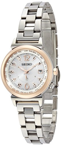 SEIKO WATCH LUKIA Sub Mass-media model Lucky passport Solar Sapphire glass Super Clear Coating SSVV002 Lady's
