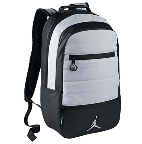 a13398b2e0f5 NIKE AIR JORDAN AIRBORNE BACKPACK (Wolf Grey) - Buy Online in KSA. Pc  products in Saudi Arabia. See Prices