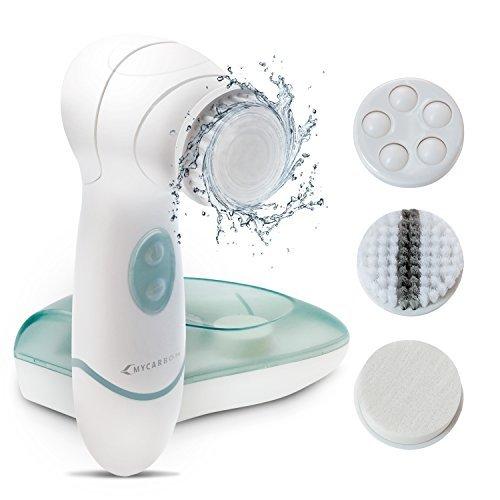 Facial Cleansing Brush MYCARBON IPX5 Waterproof Facial Exfoliating Brush...