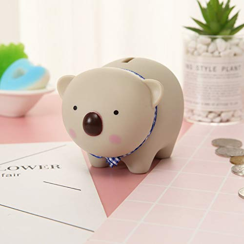Mondo dei fiori Creative Gifts_Cute Child Piggy Bank Cartoon Piggy Bank Piggy Doll Home Desktop Sound Creative, Koala Bear - Piggy Bank Birthday