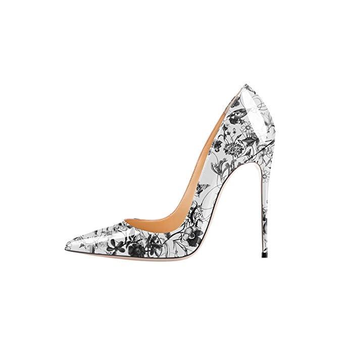 Gtvernh-women's Shoes scarpe donna tacco Classico Scoppiando Sharp Superficiale Uno Spessore Di Dodici Centimetri Tacchi Schemi Le Donne Sono Solo Scarpe