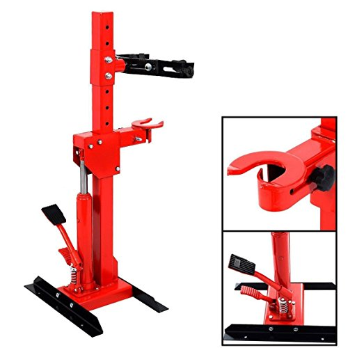 2200 LBS 1 Ton Auto Strut Coil Spring Compressor Air Hydraulic Tool Cars Truck - By Choice Products by By Choice Products