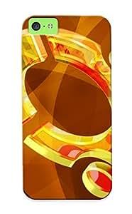 BKKJRtJ3445HKgei Cover Case - Ubuntu Protective Case Compatibel With Iphone 5c
