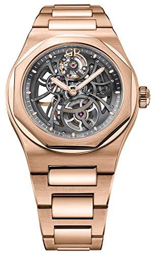 Girard-Perregaux-Laureato-Skeleton-Rose-Gold-Automatic-Mens-Watch