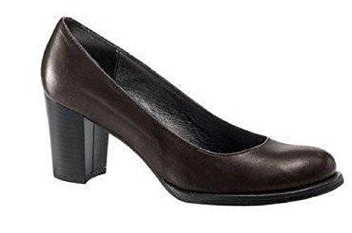 Mujer Pumps CHILLANY de Braun cuero Schoko Vestir de Zapatos FvwdvqY