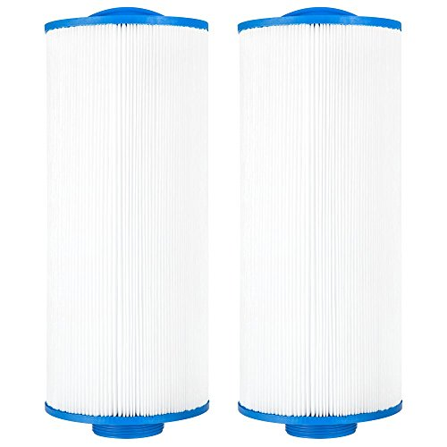 Clear Choice Pool Spa Filter 5.19 Dia x 12.50 in Cartridge Replacement for Pacific Marquis Spa 35 Aladdin 13507 Baleen AK-90103, [2-Pack]