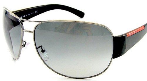 c4bf576a26 New Authentic Prada Sport Sps 54E Sps54E 5Av-3M1 Sunglasses Smoke ...